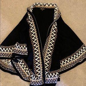 Ella Moss poncho sweater